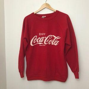 Vintage Coca-Cola Crewneck Sweatshirt